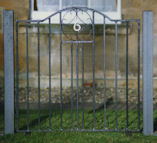Gate by Edinburgh Blacksmith Duddingston Forge